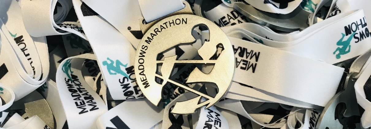 Meadows Marathon medals